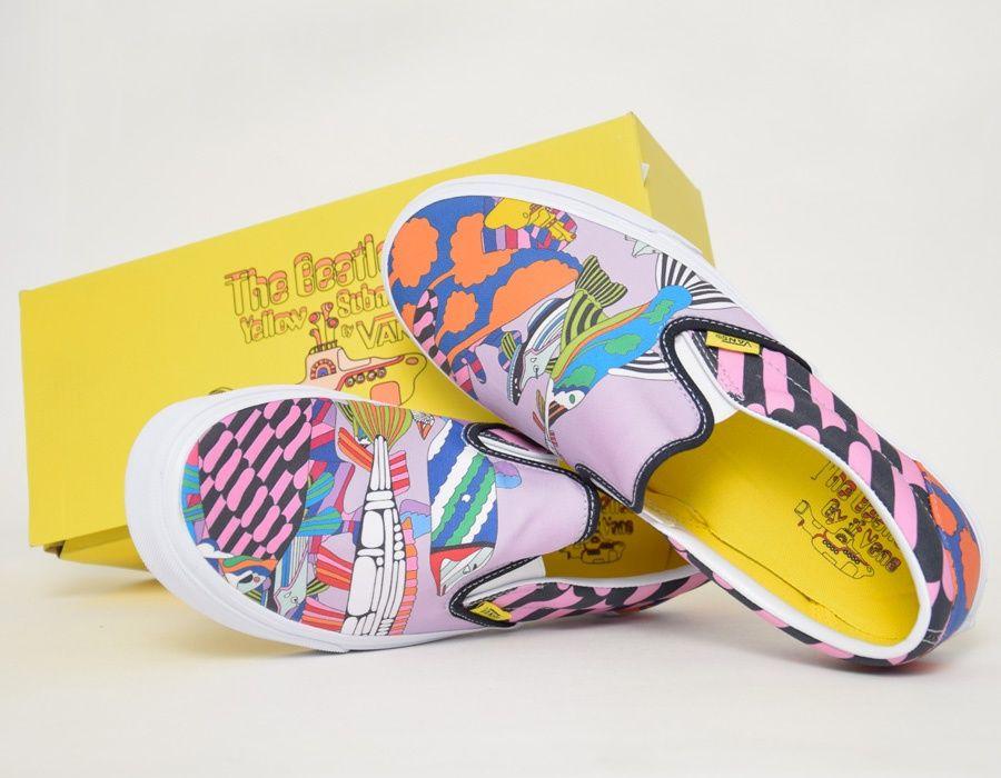 9883edf3ae Vans - The Beatles. Vans - Sea Of Monsters  Yellow Submarine  slip-ons