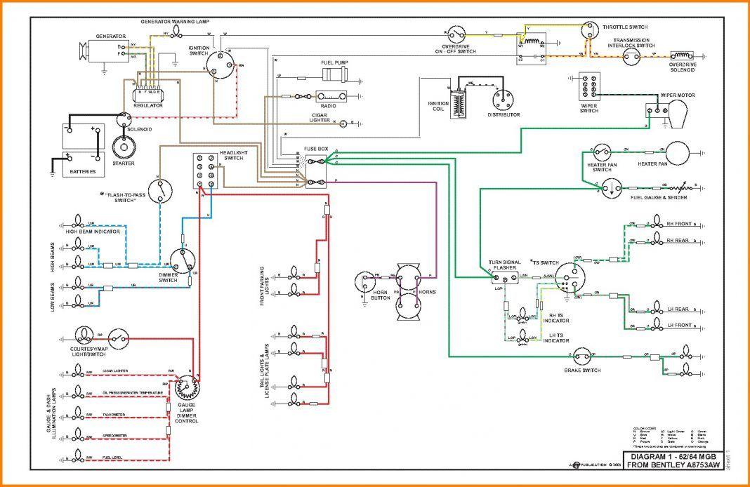 20 Simple Automotive Wiring Diagrams References Bacamajalah Electrical Wiring Diagram Automotive Electrical Diagram