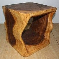 Natural Cube | Monkey Pod Wood Oak Oil