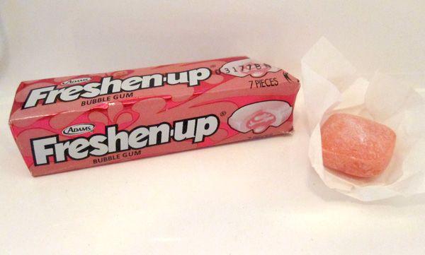 Gum Alert A Gum Blog With Gum Reviews Freshen Up Bubblegum Gum Bubble Gum My Childhood Memories