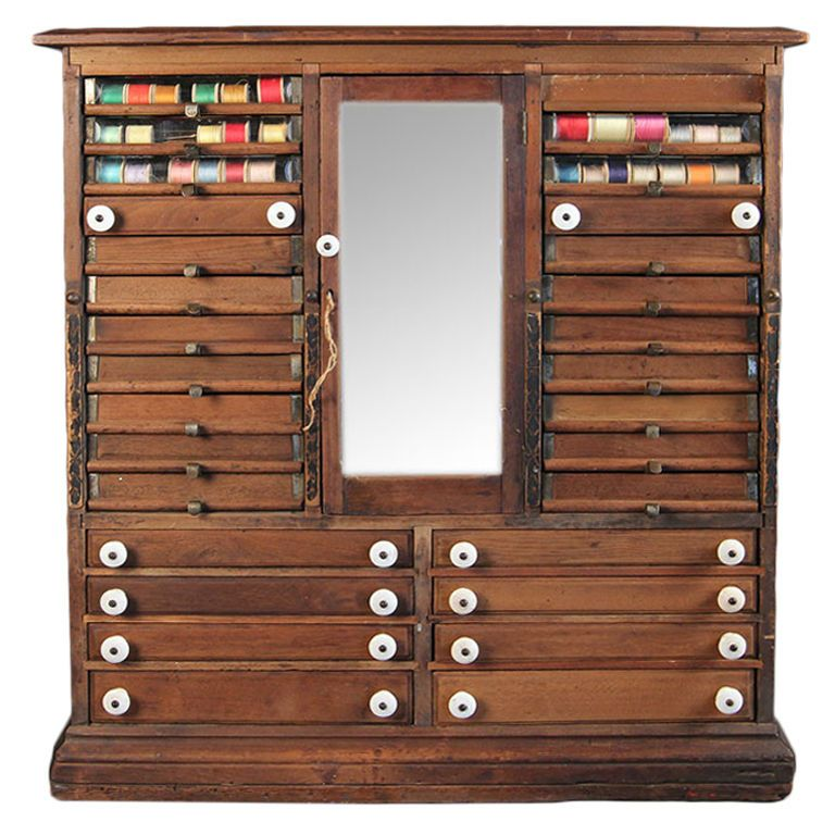 Best Vintage Spool Cabinet In 2020 Sewing Rooms Sewing 640 x 480