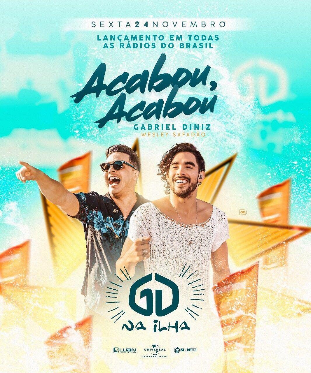 Nesta sexta-feira (24) tem lançamento do novo single do Gabriel Diniz! 09ddb36333
