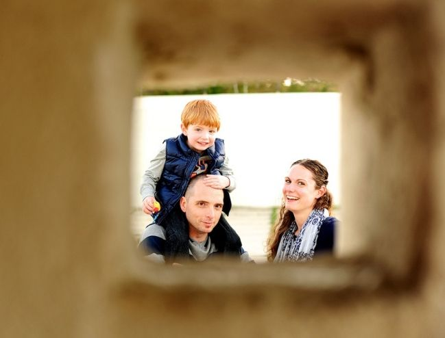 Photographers · katie jason raistlin family session fort williams family session