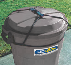 Lid Lock To Prevent Raccoons And Other Nocturnal Raiders