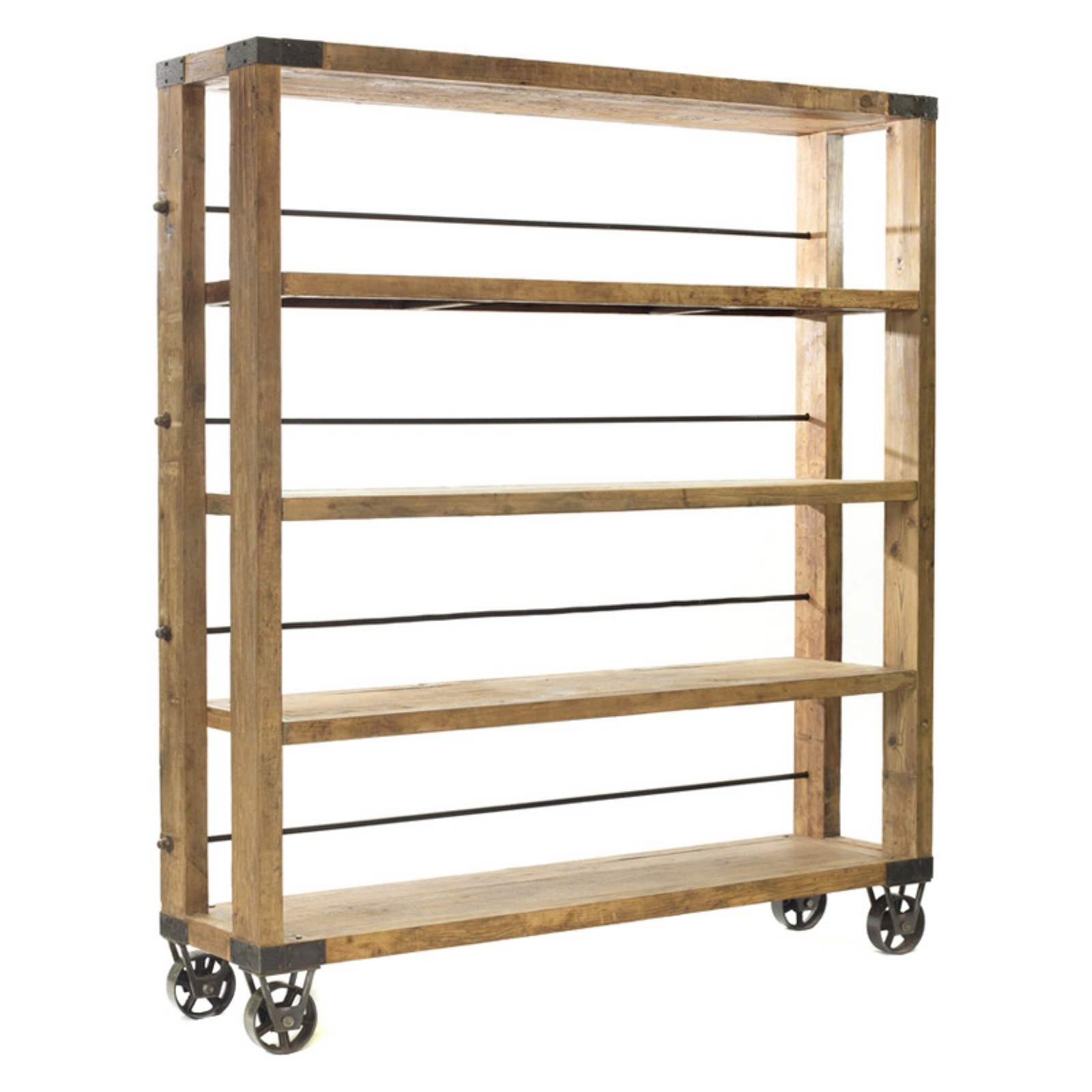 Furniture Discount Sites: Hip Vintage Rolling Study Bookcase In 2019