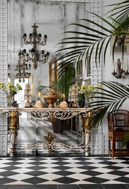 Beautiful conservatory room look