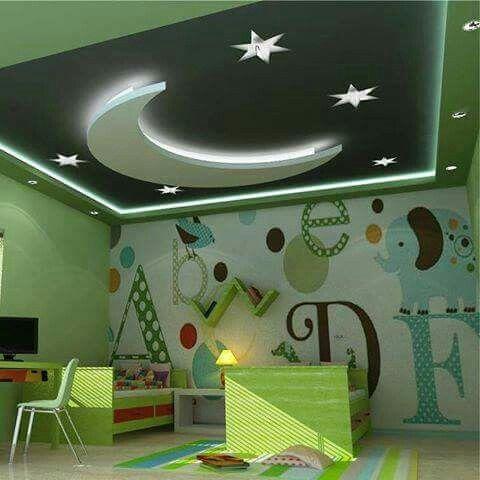 Buenas Noches Pequeno House Ceiling Design Bedroom False Ceiling Design Kids Interior Room