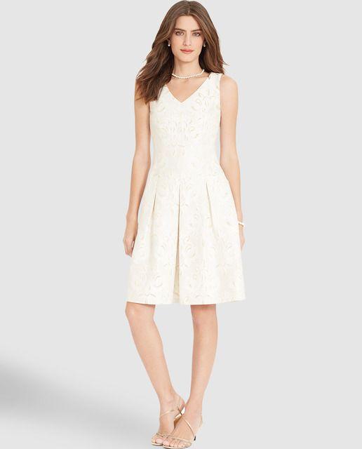 Vestidos de fiesta blanco el corte ingles