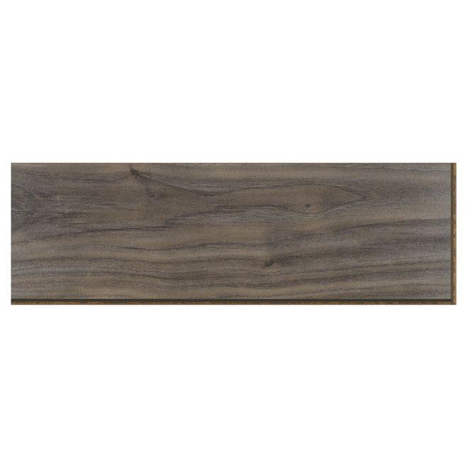 Al Laminate Flooring Made Of Hdf Grigio Walnut Color