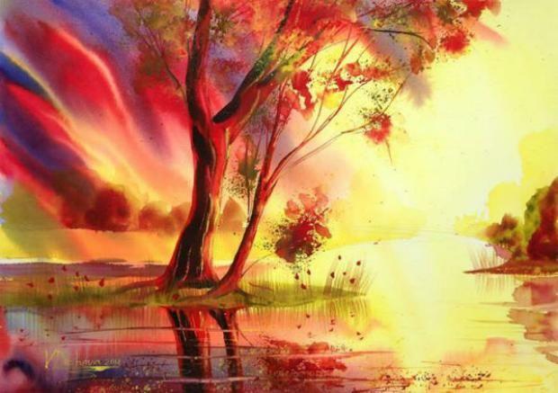 Хармонията на природата върху платна | High View Art