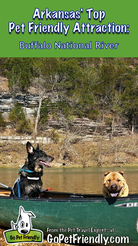 Arkansas Top Pet Friendly Attraction Buffalo National River