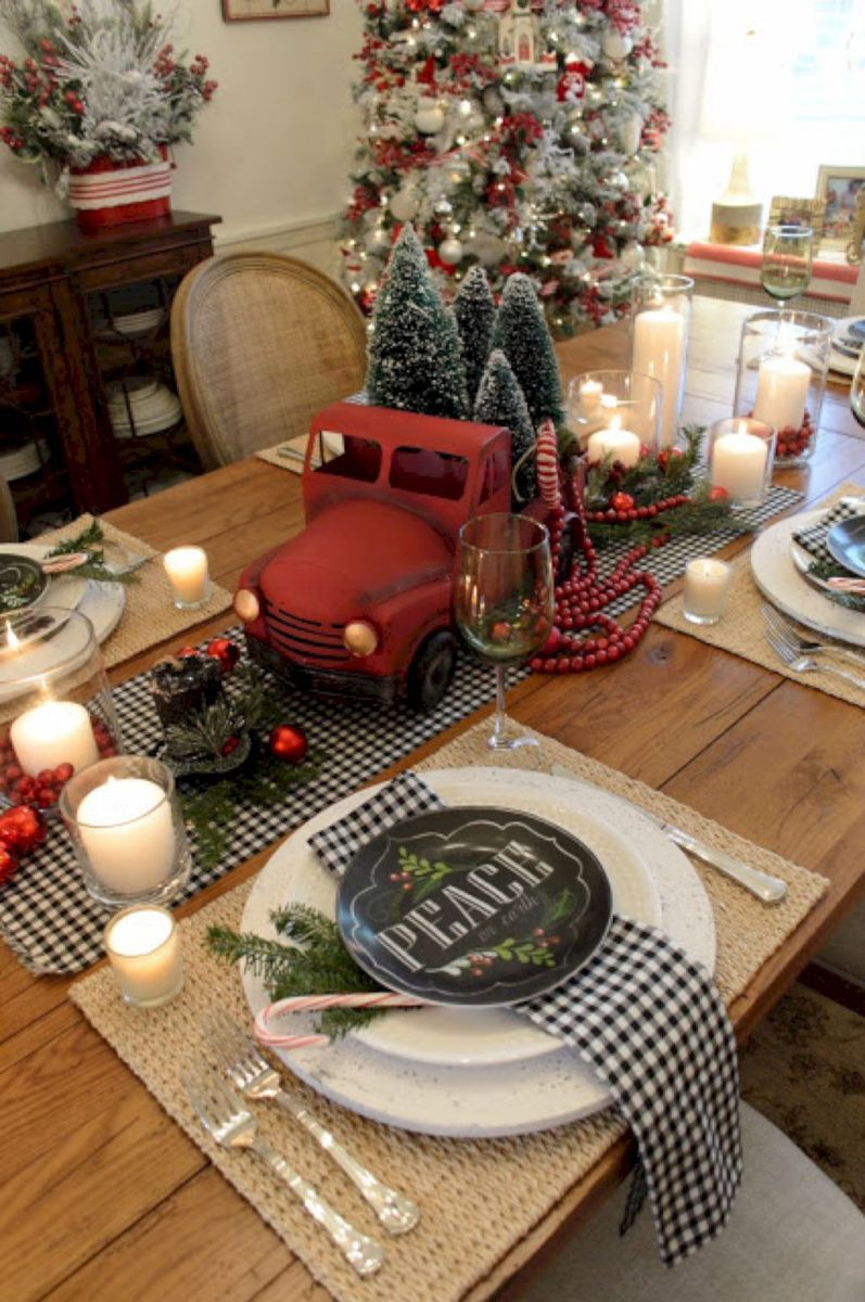 44 Beautiful Country Christmas Decoration Ideas For Your Home   Decoralink