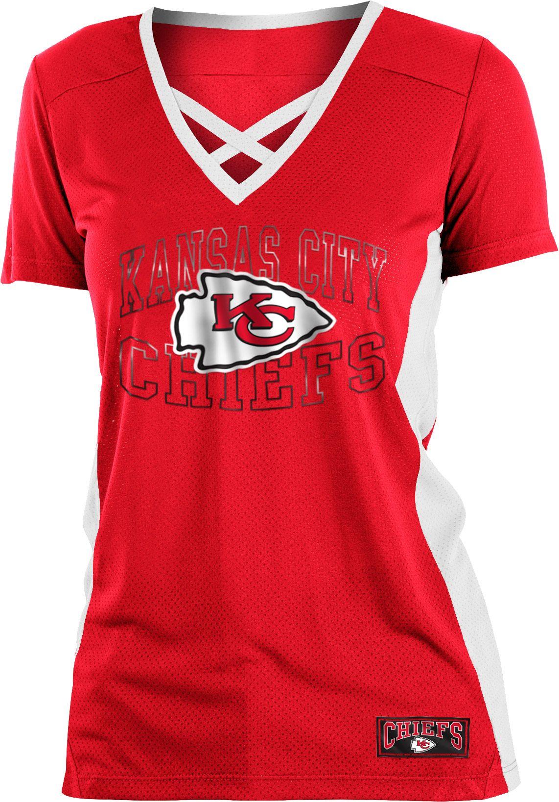 Kansas City Mesh Lace Red T-Shirt
