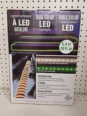 Cordon lumineux dual color led rope light double color 210 led bulbs cordon lumineux dual color led rope light double color 210 led bulbs 18 ft save aloadofball Choice Image