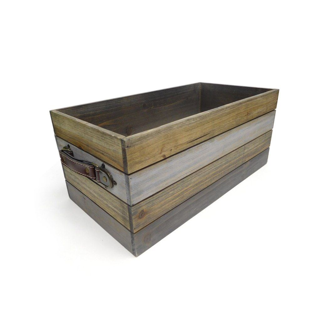 Buy The Large Rectangular Slat Crate By Ashland At Michaels Com Get This Rectangular Crate By Ashland For Your Various Home Dec Redecorating Ideas