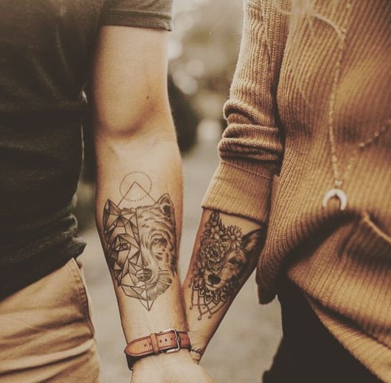 Unique and Different Tattoo Ideas for Couples Word from the Bird – Best Matching Tattoo Ideas for Couples – #unique # for #i …