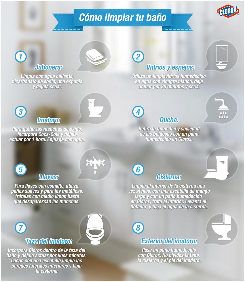 Tips Para Que Siempre Tenga Un Ba O Limpio Hogaressauce