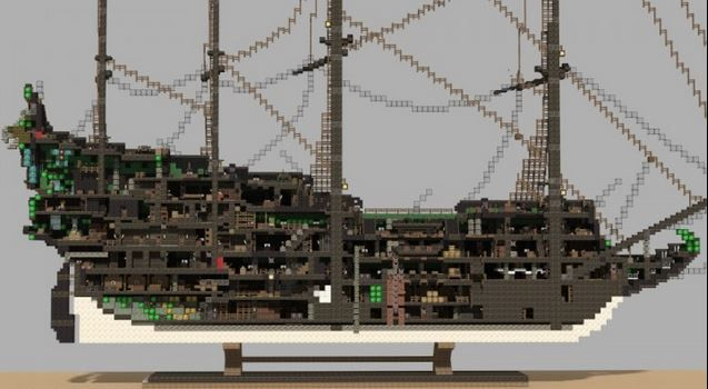 minecraft pe pirate ship map download