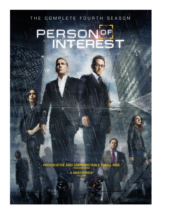Person of Interest Season 4 DVD Cover