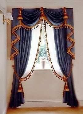 Luxury Classic Curtains And Drapes 2017 Blue Designs For Window