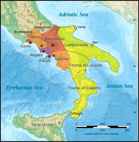 Catapanato de Italia