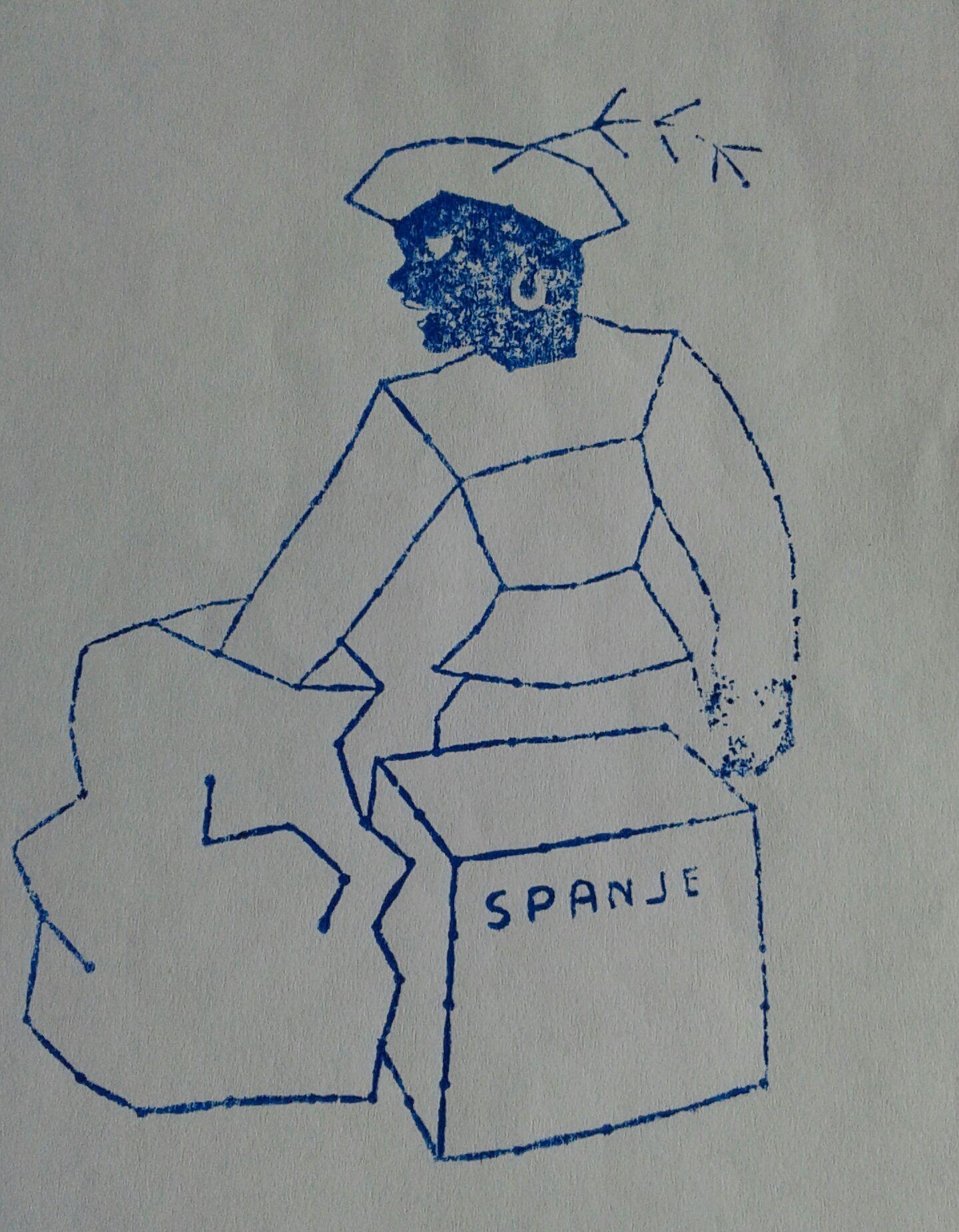 School/borduurstempel