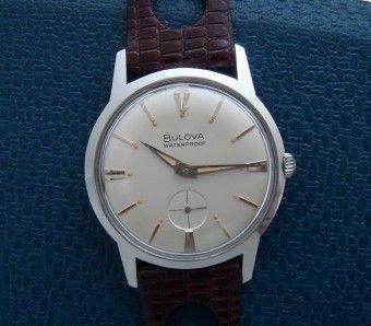 Men's 1966 Bulova Stainless Steel Wristwatch w/Boxes | Strickland Vintage Watches
