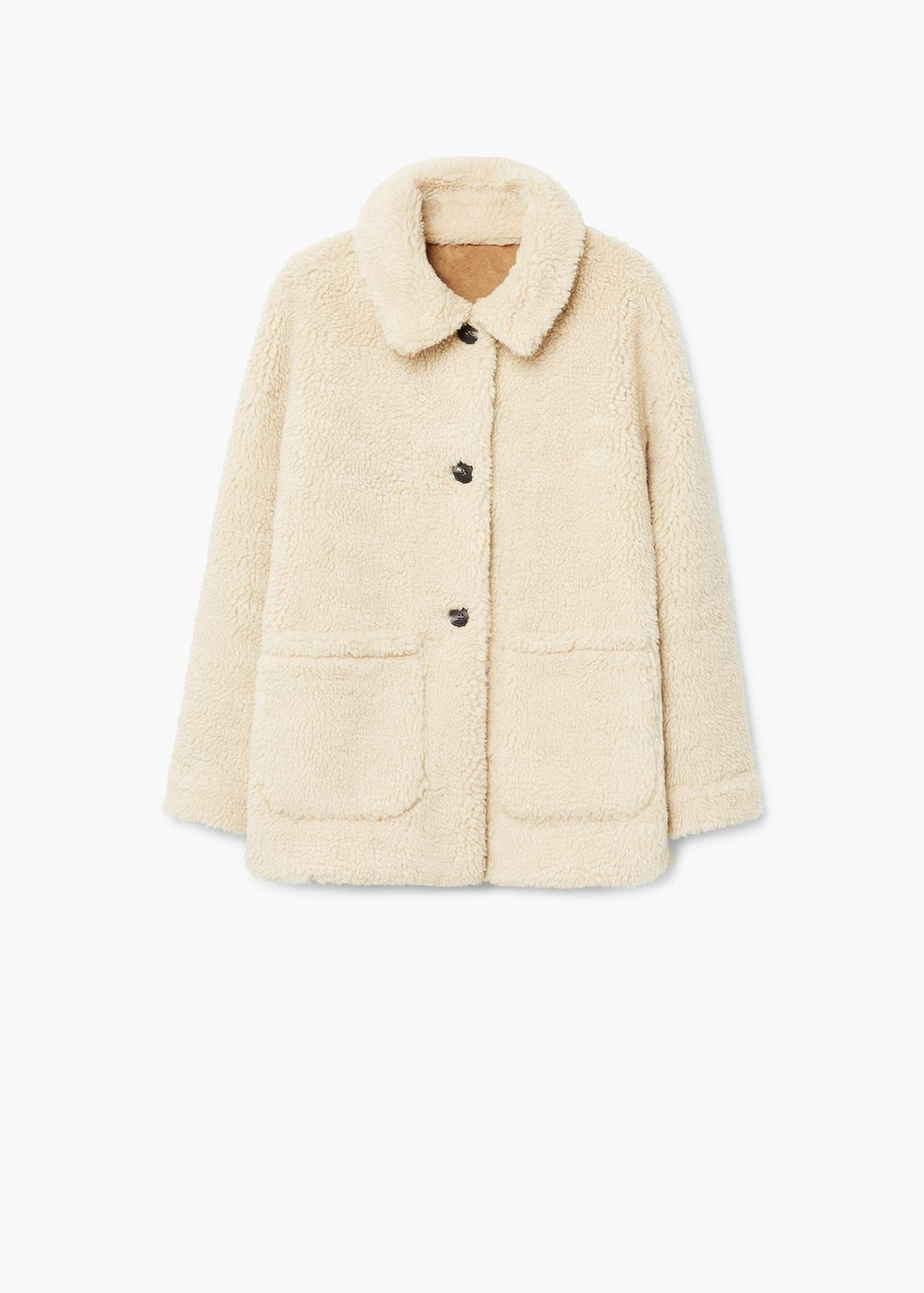 f705caa095 Faux shearling-lined coat - Women