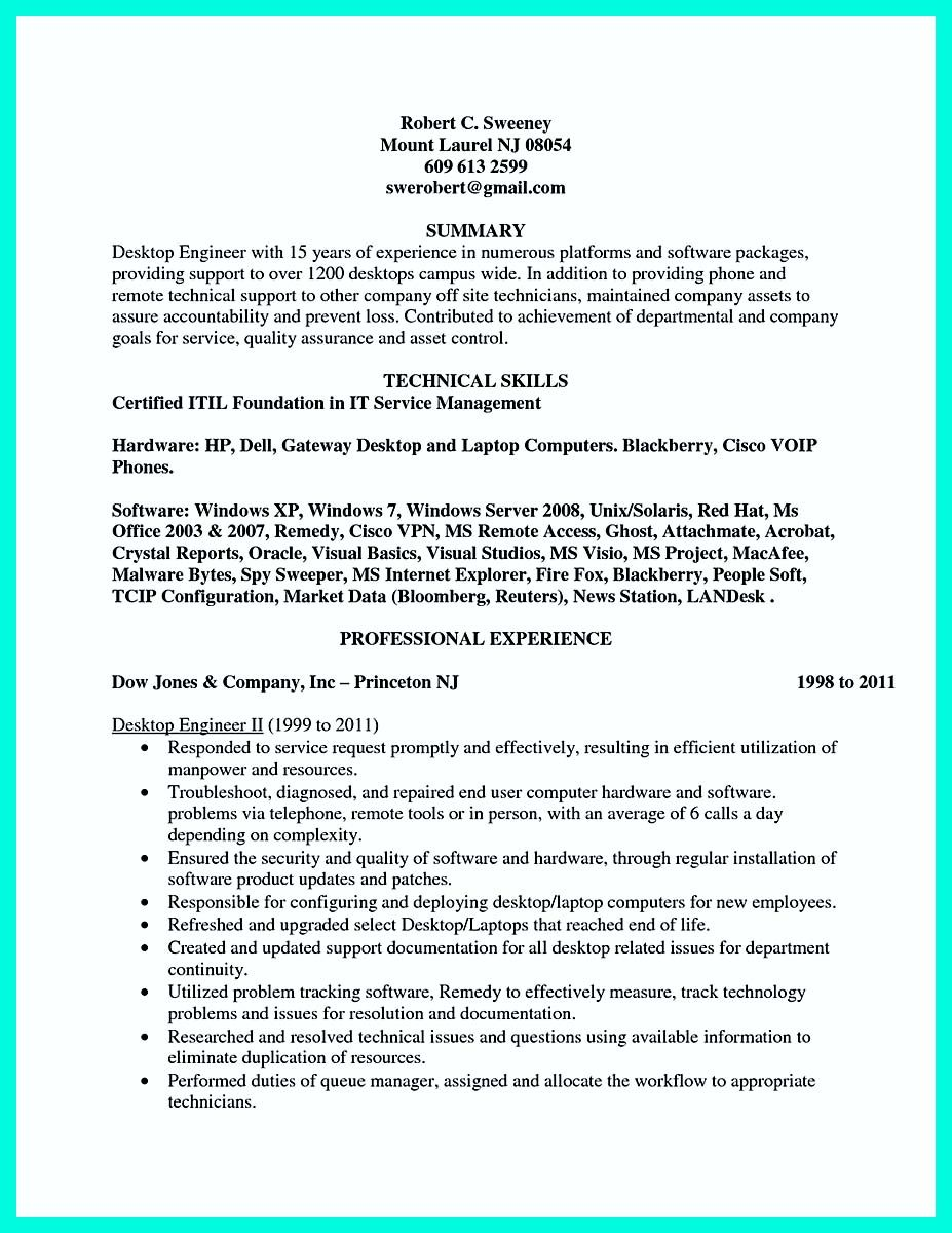 awesome The Perfect Computer Engineering Resume Sample to Get Job ...