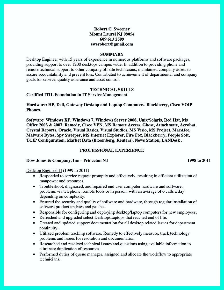 field service engineer resume samples