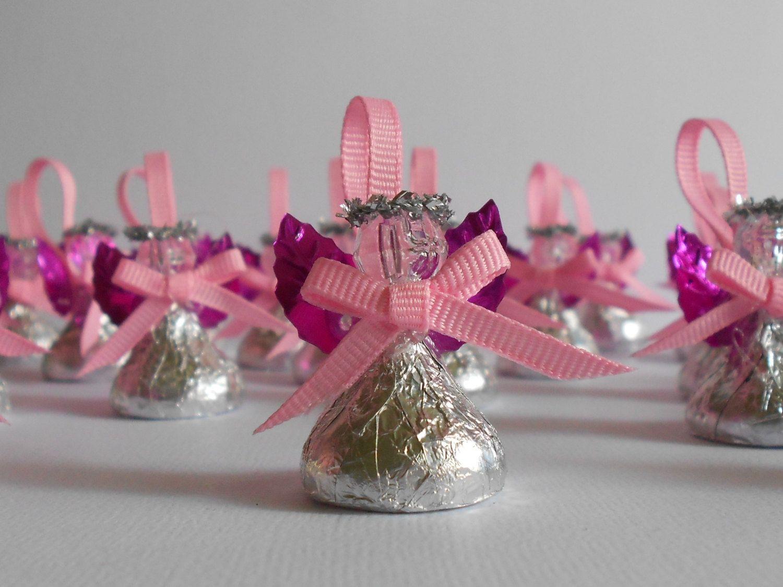 Chocolate Candy Angel - Wedding Favor, Bridal Shower Favor, Baptism ...