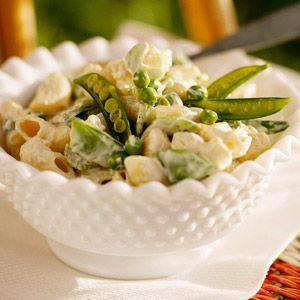 Pea and Macaroni Salad