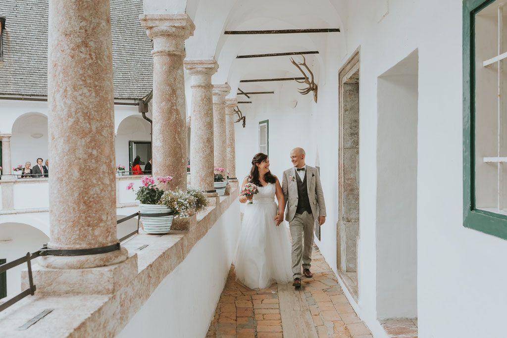 Sarah Daniel Hochzeit Im Seeschloss Orth Julia Kollmann