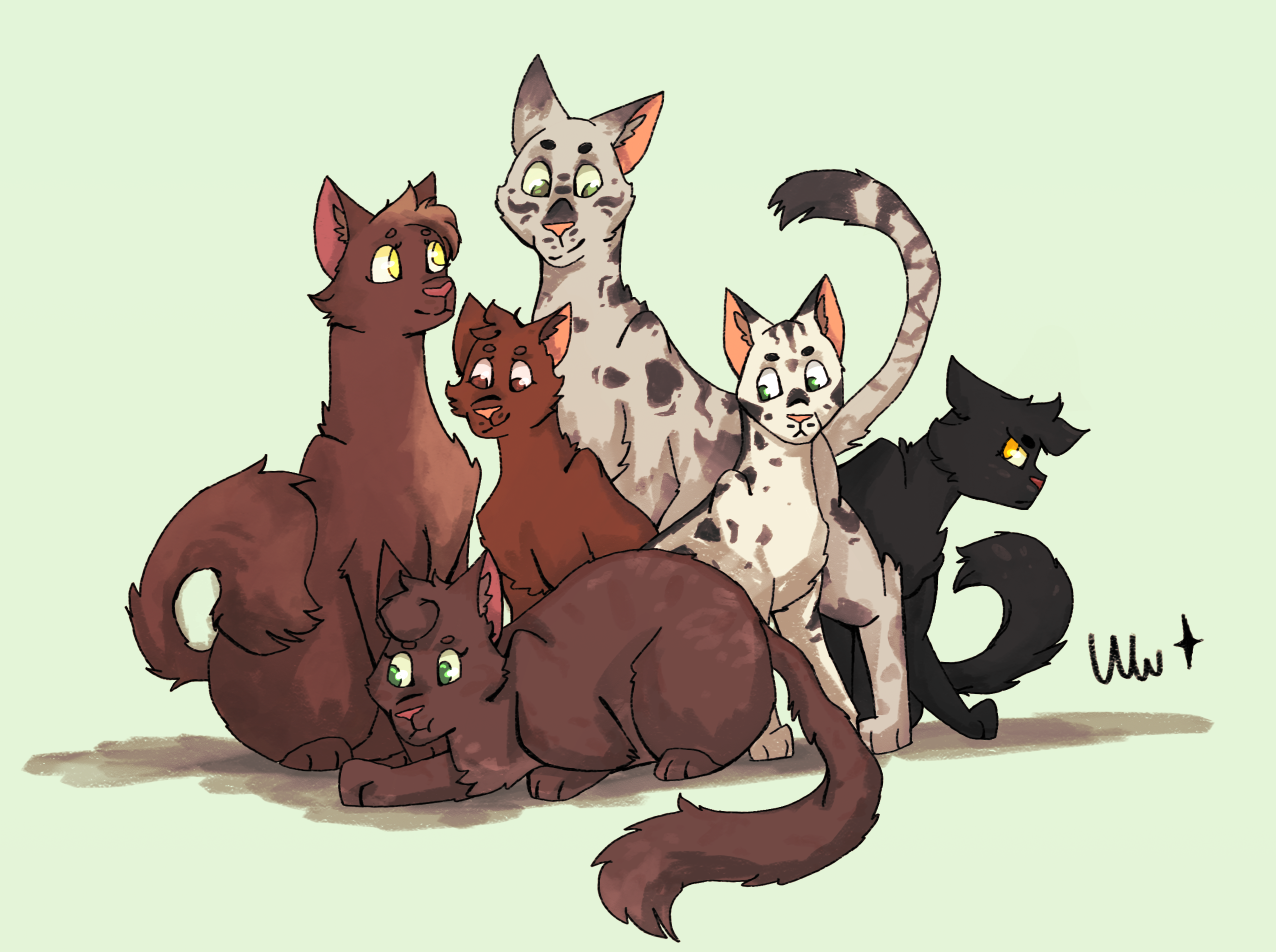 Family portrait// gift/contest entry for Mousestripe