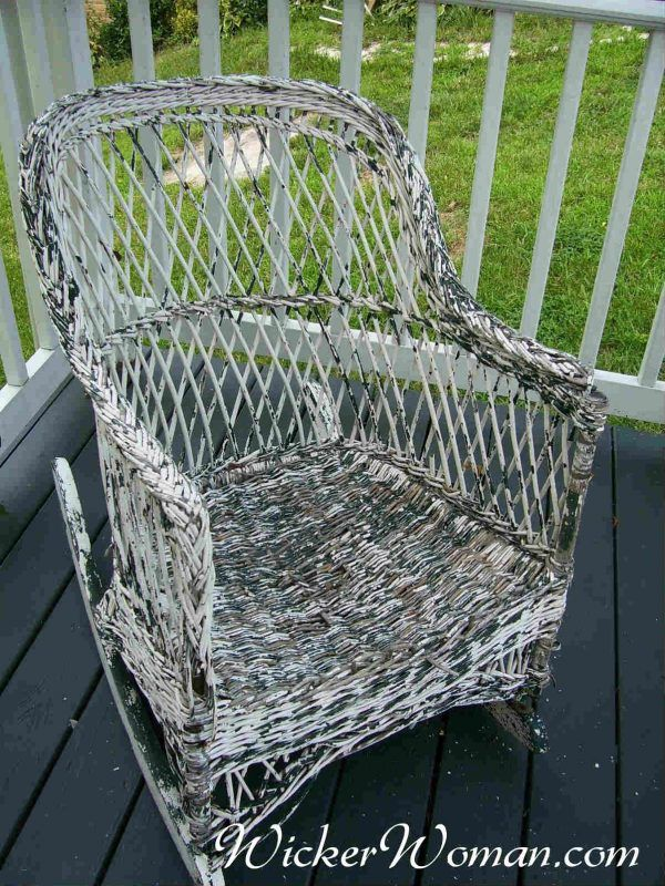 How To Paint Wicker Furniture Article By Wicker Furniture Repair Expert,  Teacher And Author Cathryn Peters, Wicker Painting Tips To Make It Easy.
