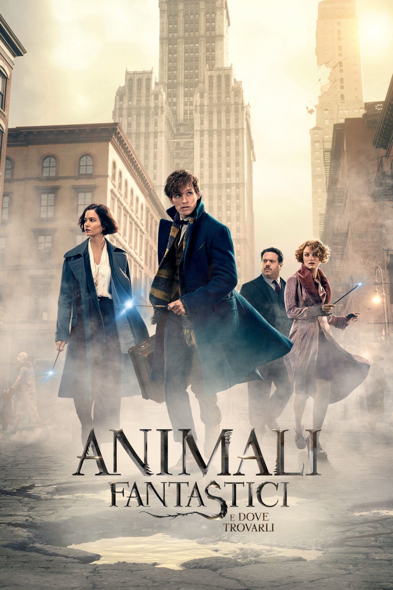 Animali Fantastici E Dove Trovarli Animali Fantastici Animali Film