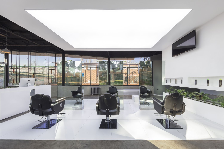 Gallery Of Vip Hair Club 4 Architecture Studio 3 Salon Interior Design Retail Architecture Architecture
