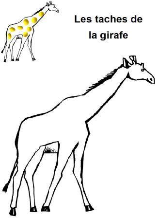Coloriage Girafe Sans Tache.Fiches Pour L Atelier Pate A Modeler En Maternelle Pate A Modeler