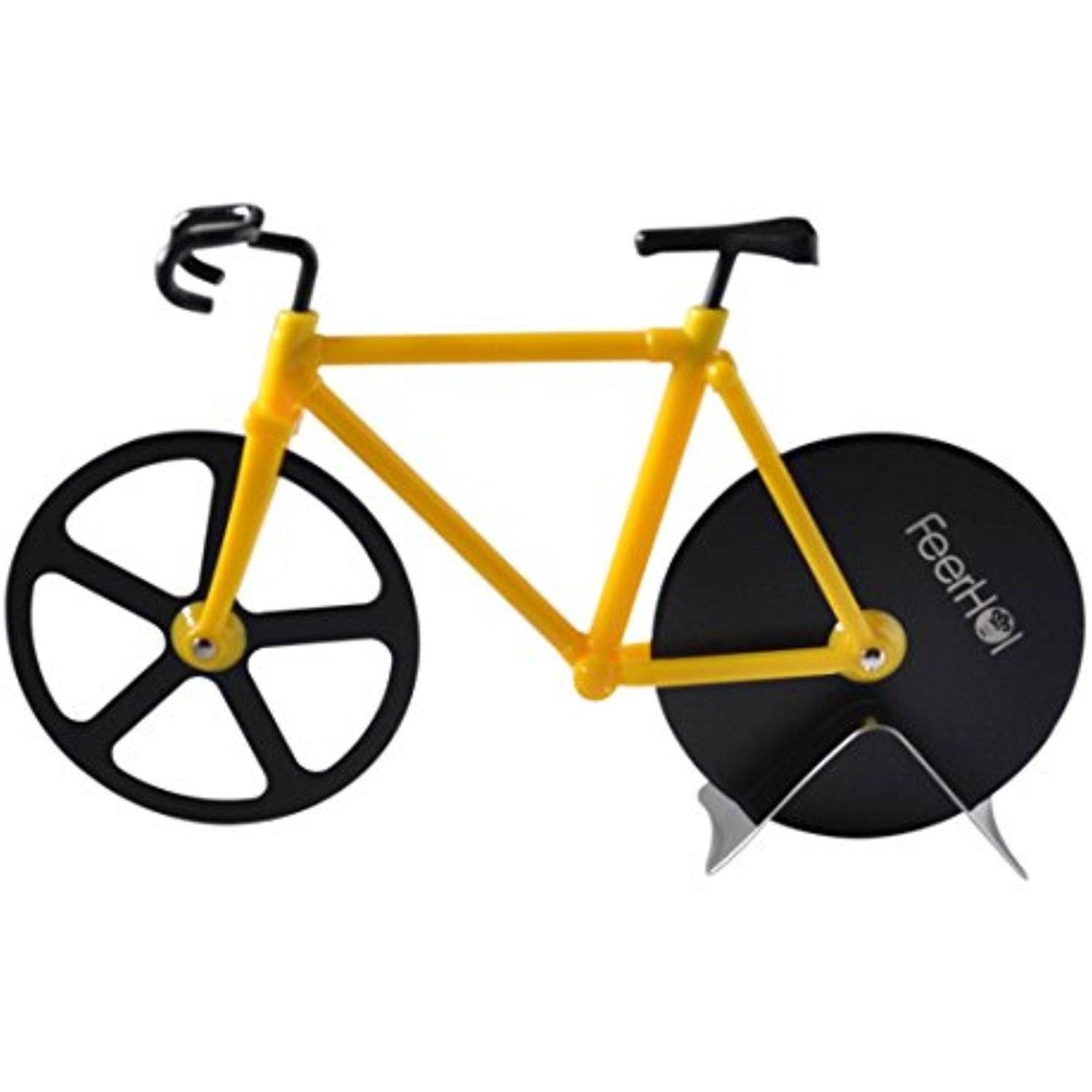 Feerhola S Stainless Steel Pizza Cutter Bike The Fun Small
