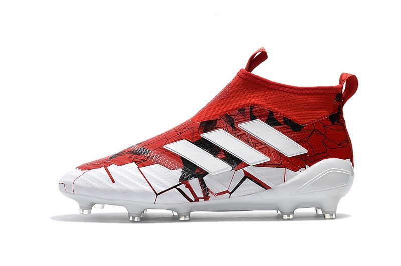 2017 2018 Fifa World Cup New Soccer Cleats Adidas Ace 17 Purecontrol Red White Soccer Cleats Adidas Red And White Adidas Adidas Soccer Shoes