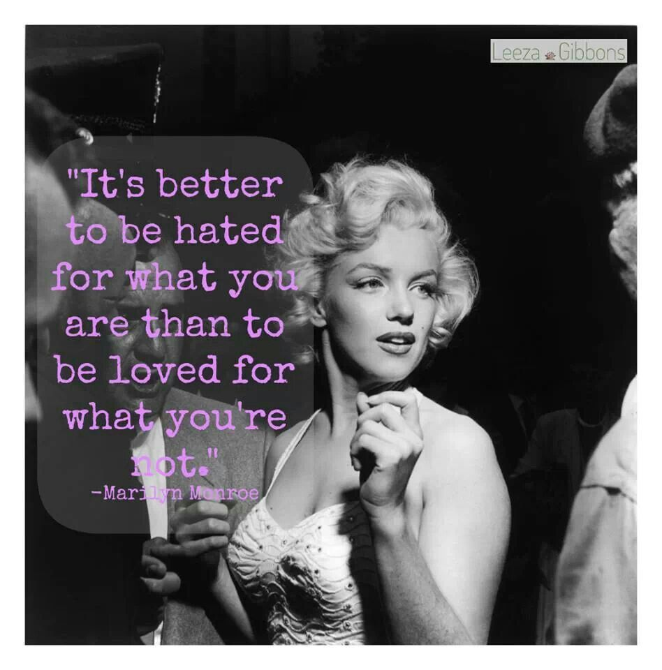 Marilyn Monroe Never Thought I D Be Much Of A Fan For A Marilyn