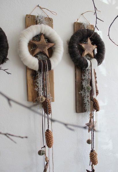 Schöne Wohndeko für Weihnachten! #gemütlicheweihnachten Schöne Wohndeko für Weihnachten! #rustikaleweihnachten