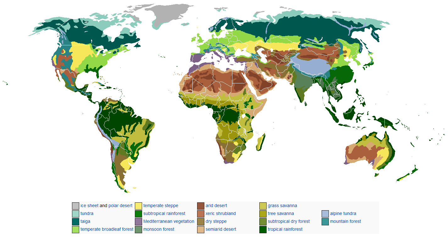 Biomes of earth geography geography pinterest biomes biomes of earth geography gumiabroncs Images