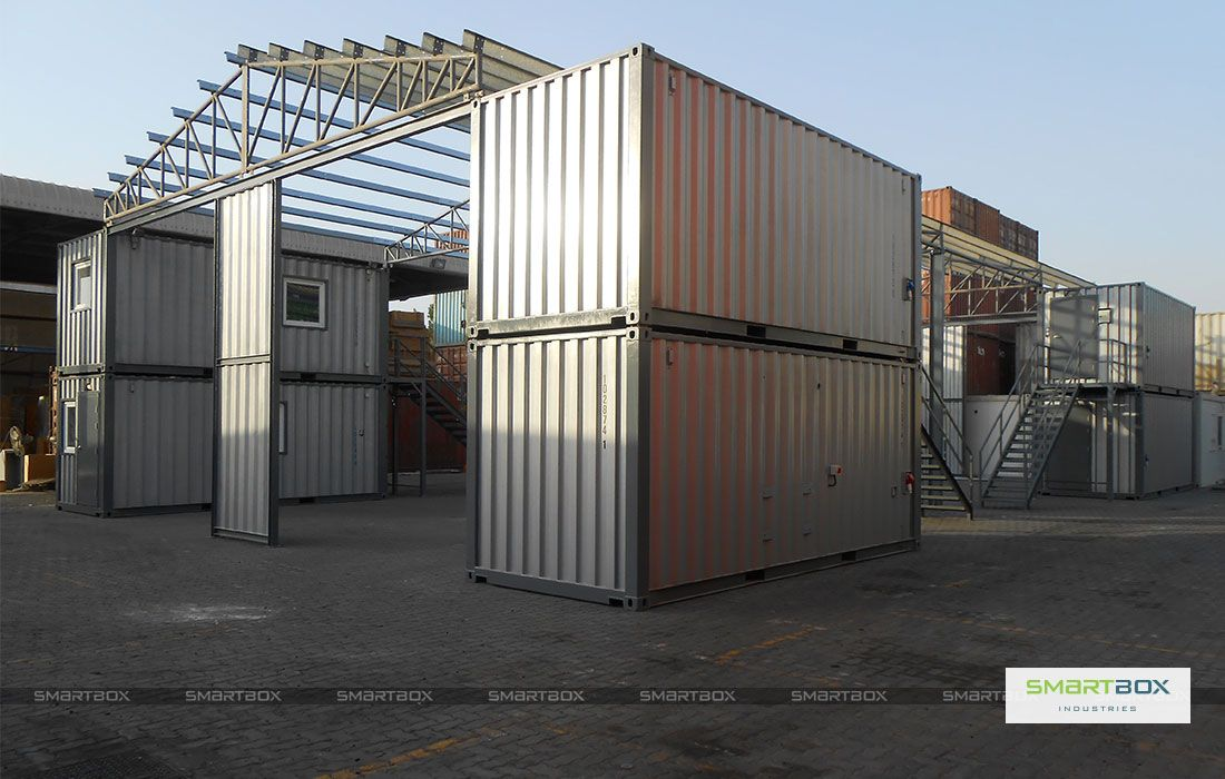 Smart Solutions Smartbox Shipping Container Buildings Container House Building A Container Home