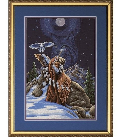 Dimensions Counted Cross Stitch Kit-Sacred Connection at Joann.com