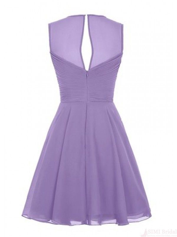 lavender cute short dress,homecoming dress #homecomingdresses | 2018 ...