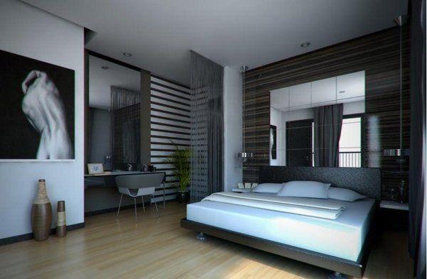 Elegant Mens Bedroom Ideas Gray Color Shades Men Bedroom Decor Bachelor Bedroom Masculine Bedroom Design Bedroom Interior