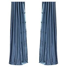 Maude Curtain Panel in Provincial Blue