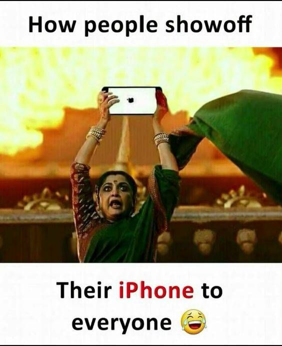 How people showoff their iPhone to everyone