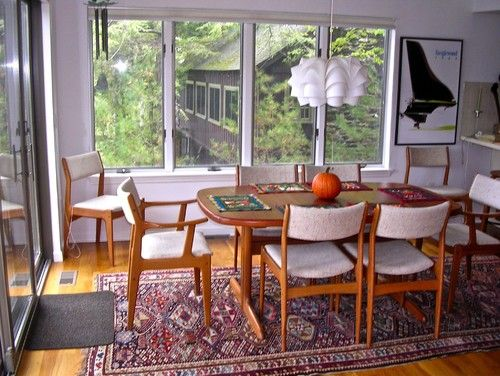Eclectic Dining Room Lake House In The Berkshires Oriental RugsLiving